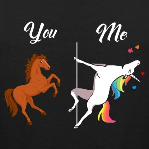 Unicorn You and Me - Men's Premium Tank