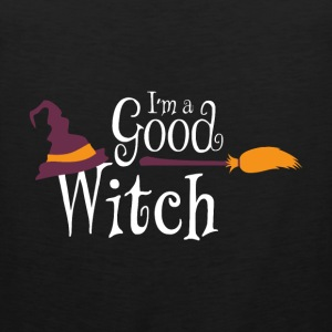 Halloween I'm a Good Witch Gift Tee - Men's Premium Tank