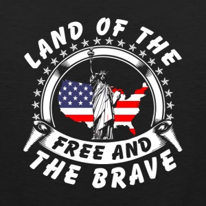 Land Of The Free and The Brave Products - Men's Premium Tank