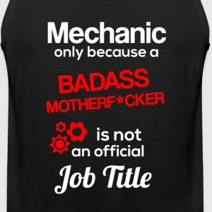 Badass Mechanic - Men's Premium Tank