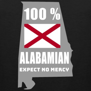 100 % Alabamian - Expect no mercy - Men's Premium Tank