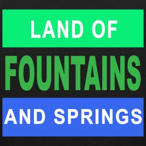 FOUNTAINS and SPRINGS - Men's Premium Tank