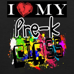 I Love My Pre- K Kindergarten Class T Shirt - Men's Premium Tank