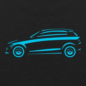 Hatchback-car in side view - Men's Premium Tank