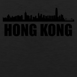 Hong Kong Skyline - Men's Premium Tank