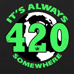 It's always 420 Somewhere - Men's Premium Tank