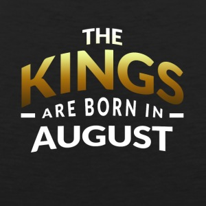 Kings are born in August - Men's Premium Tank