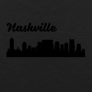 Nashville TN Skyline - Men's Premium Tank