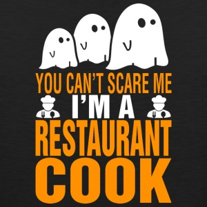 You Cant Scare Me Im Restaurant Cook Halloween - Men's Premium Tank
