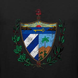 Cuban Coat of Arms Cuba Symbol - Men's Premium Tank