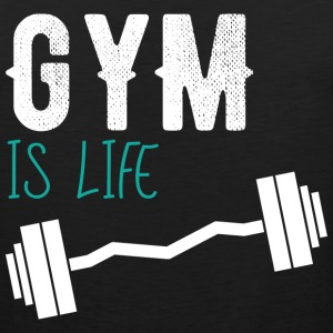 Gym is life - Men's Premium Tank