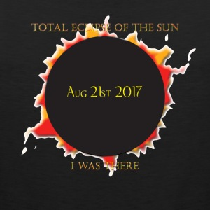 Total Eclipse of The Sun - I was There - Men's Premium Tank