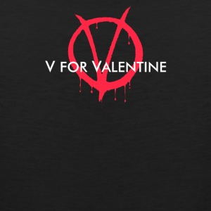 V for Valentine - Men's Premium Tank