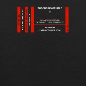 Throbbing Gristle Ticket - Men's Premium Tank