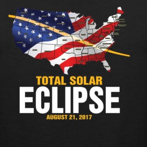 The Total Solar Eclipse August 21 2017 - Men's Premium Tank