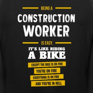 Construction worker - Men's Premium Tank