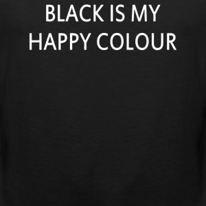 Black Is My Happy Colour Vogue Festival Friday - Men's Premium Tank
