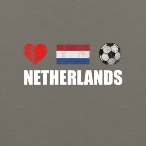 Netherlands Football Netherlander or Dutch Soccer - Men's Premium Tank