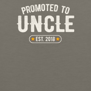 Promoted To Uncle 2018 - Men's Premium Tank