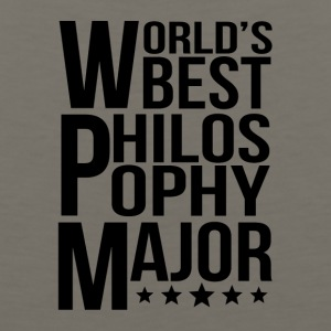 World's Best Philosophy Major - Men's Premium Tank