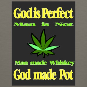 God made Pot - Men's Premium Tank