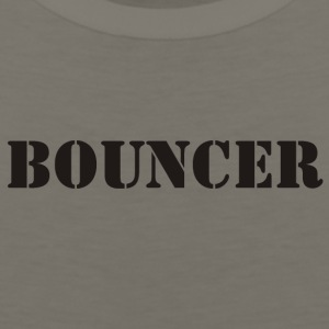 bouncer black - Men's Premium Tank
