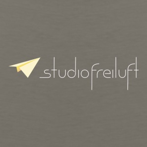 studiofreiluft logo eco shirt design - Men's Premium Tank