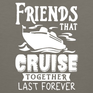 Friends Cruise Together Tee Shirt - Men's Premium Tank