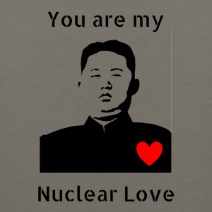 Nuclear_Love_shirt - Men's Premium Tank