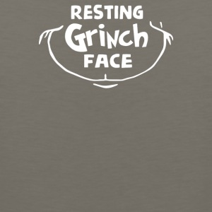 Resting Grinch Face Dr - Men's Premium Tank
