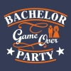 bachelor party game over - Men's Premium Tank