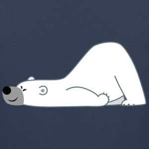 Cute Sliding Polar Bear by Cheerful Madness!!