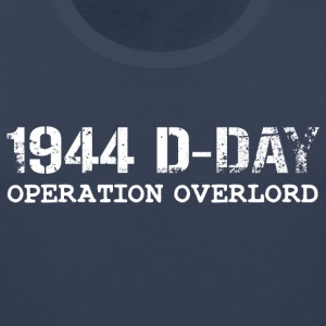 1944 D-Day Operation Overlord (White) - Men's Premium Tank