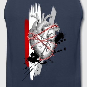 Heart Attack - Men's Premium Tank