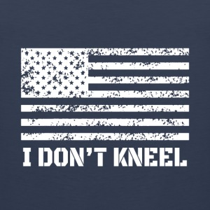 Veteran shirt- I don't kneel shirt - Men's Premium Tank