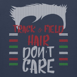 Ugly sweater christmas gift for track & field - Men's Premium Tank