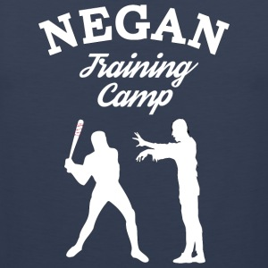 Negan Training Camp T Shirt - Men's Premium Tank