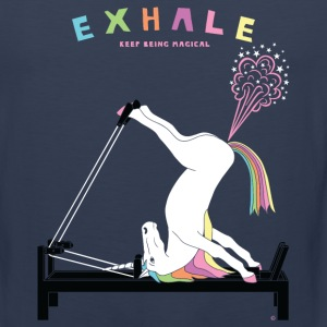 Pilates Unicorn Exhale - Men's Premium Tank