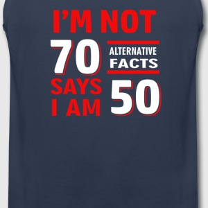 Funny 70th birthday t-shirts - Men's Premium Tank