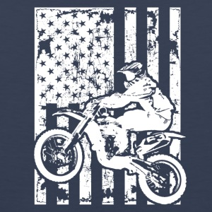 Dirt Bike Flag Shirt - Men's Premium Tank