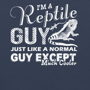 Reptile Guy Is Cooler Shirts - Men's Premium Tank