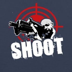shoot tee shirt - Men's Premium Tank