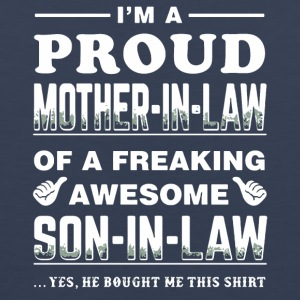 I'm a proud Mother-in-law shirt - Men's Premium Tank