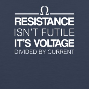 Physics Resistance Voltage Divide Current - Men's Premium Tank