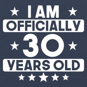 I Am Officially 30 Years Old 30th Birthday - Men's Premium Tank
