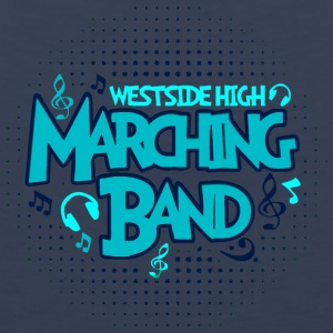 WESTSIDE HIGH MARCHING BAND - Men's Premium Tank