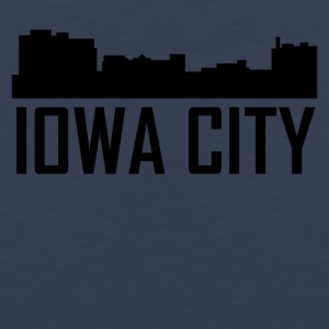 Iowa City Iowa City Skyline - Men's Premium Tank