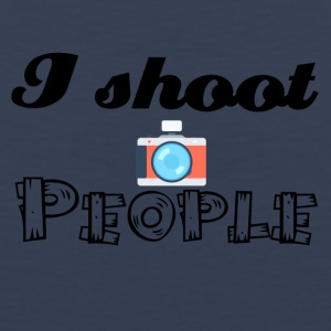 I shoot people - Men's Premium Tank