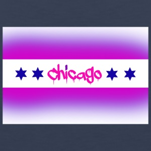 Chicago Bisexual Flag - Men's Premium Tank
