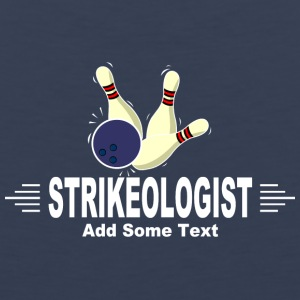 Strikeologist add some text - Men's Premium Tank
